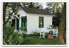 One room cabin   this restored one room cabin ... {via Chicago Home + Garden ...