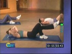 i swear by this ab video!!! its from slim in 6 i did it for 5 days and saw results!! i reccomend it highly!! :)