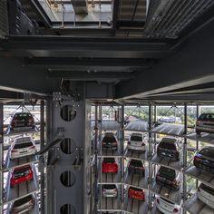 Autostadt Wolfsburg - Autoturm Panoramic photo by Willy Kaemena Panoramic Photography