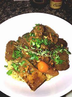 Orange and Herb Venison Stew