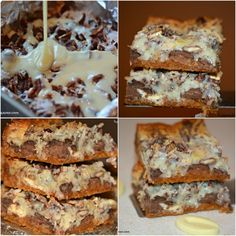 Seven Layer Candy Bars - Hugs and Cookies XOXO