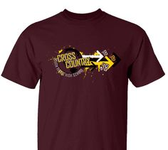 High School Impressions search XC-017-W; 2018 High School Cross Country T-Shirts- Create your own design for t-shirts, hoodies, sweatshirts. Choose your Text, Ink and Garment Colors. Visit our other boards for other great designs!