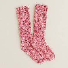 Camp Socks from J. Crew - Sweaters for your feet, they warm you up real fast.  Worth every penny!