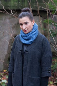 100 Merino Wool Snood by ShopIDcrafts on Etsy, €40.00
