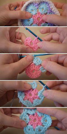 African Flower Crochet - Free Patterns and Inspiration   Crochetpedia