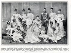 wedding King George V  & queen  Mary 1893 by janwillemsen, via Flickr