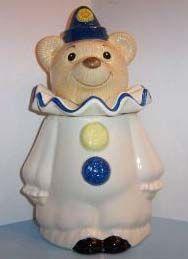 Collecting Metlox Cookie Jars: Metlox Circus Bear Cookie Jar