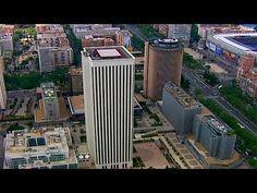 Madrid desde el aire: Madrid, la ciudad entre ciudades - YouTube