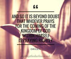 Origen: On Prayer