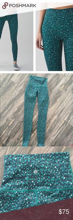 lululemon high rise wunder under size 2 Great condition! No piling. Thought I was a two, but I'm a 4. lululemon athletica Pants Leggings