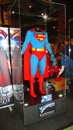 Christopher Reeve's costume from Superman: The Movie.