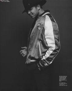 Singles Magazine: April Issue #RapMonster #BTS