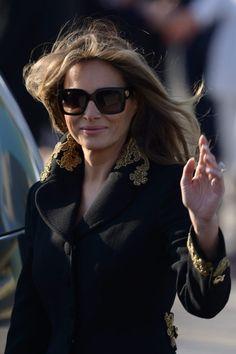 PHOTOS: First Lady Melania Trump Radiates In High Fashion During Trip Abroad