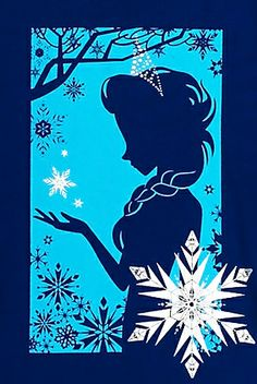 Elsa graphic Disney Store #Frozen                                                                                                                                                                                 More