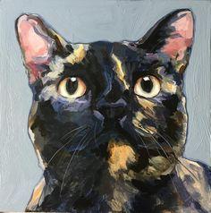 Cat Portrait Tattoos, Pet Portraits, Cat Drawing, Drawing Ideas, Animal Sketches, Beautiful Cats, Cat Art, Ragdoll Kittens, Tabby Cats