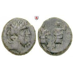 Koile Syria, Chalkis ad Libanon, Ptolemaios, Tetrarch, Bronze, ss: Ptolemaios, Tetrarch um 85-40 v.Chr. Bronze. Kopf des Zeus r. mit… #coins