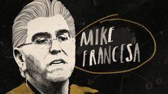 Fox Sports - The King of Talk Sports - Peter Strain Illustration