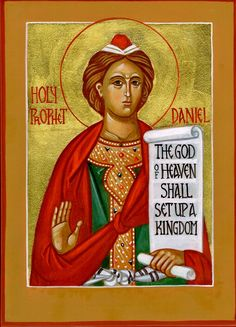 St. Daniel the prophet by Vladimir Lysak