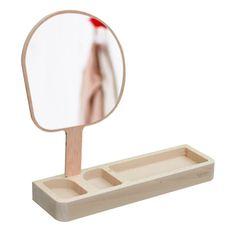 miroir, miroi vide-poches, miroi kagami, miroir kagami Reine mère, reine mère, miroir bois