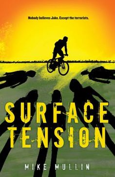 After witnessing an act of terrorism while training on his bike, Jake is found near death, with a serious head injury and unable to remember the plane crash or the aftermath that landed him in the hospital. A terrorist leader's teenage daughter, Betsy, is sent to eliminate him as a possible witness. When Jake's mother blames his head injury for his tales of attempted murder, he has to rely on his girlfriend, Laurissa, to help him escape the killers and the lawmen convinced that Jake himself… New Books, Books To Read, Surface Tension, Young Adult Fiction, New Teen, Books For Teens, Reading, Head Injury, Plane