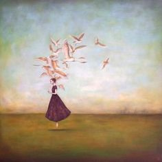 Duy Huynh paintings - available works. Vietnamese born, Charlotte NC based artist Duy Huynh creates poetic and contemplative acrylic paintings.