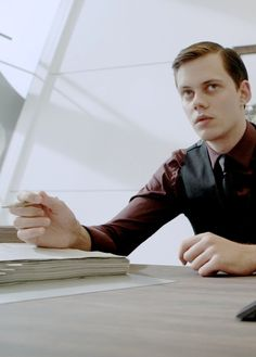 Bill Skarsgård in Hemlock Grove (Season 2, 2014)