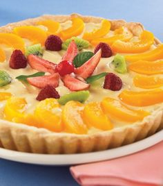 Cake fruit peaches 56 ideas for 2019 Cake Mix Recipes, Tart Recipes, Sweet Recipes, Dessert Recipes, Sweet Desserts, Delicious Desserts, Yummy Food, Cake Mix Muffins, Cheesecake Cake