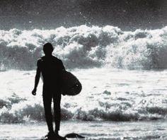 vintage image   surfing in 1969