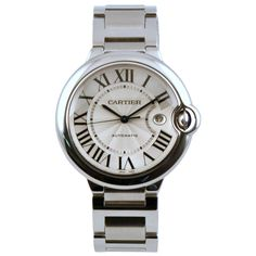 Cartier Ballon Bleu white gold watch