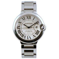 Cartier Ballon Bleu white gold watch