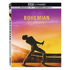 Bohemian Rhapsody celebrates the band Queen, their music, and their extraordinary lead singer Freddie Mercury, who defied convention to become one of the most beloved entertainers ever. Rami Malek, Fox Movies, Movie Tv, Aladdin Live, Amazon Dvd, Lifelong Friends, British Rock, The Greatest Showman, Dvd Blu Ray