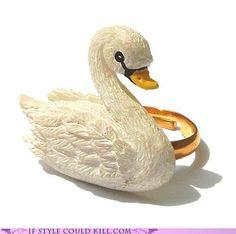 Swan ring