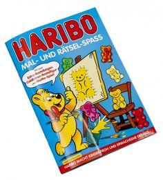 Mal- und Rätselspass mit HARIBO!