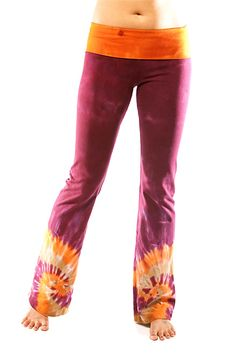 Earth-friendly, tie dyed yoga clothes that inspire women to radiate beauty, freedom and playful exuberance. Tie Dye Pants, Tie Dye Shirts, Tie Dyed, Yoga Pants, Harvest, Style Me, Pajama Pants, Monkey, Underwear