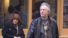 """alan-and-rima: """"Date Unknown - Alan Rickman and Rima Horton out and about. If…"""