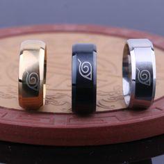 Naruto Stainless Steel Ring //Price: $8.51 & FREE Shipping //   #attackontitan #anime