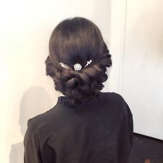 SF Ballet gala hair #updos #upstyles #oribe #randcohair #bridalhair #hairbylesliechin #sfsalon #sfstylist #cowboysandangelssf
