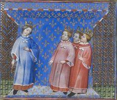 Pierre Salmon, Réponses à Charles VI.., 1409-1410, 13r http://www.europeanaregia.eu/en/manuscripts/paris-bibliotheque-nationale-france-mss-francais-23279/en