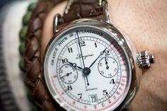 The Longines Pulsometer Chronograph Cadran