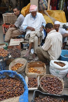 Dates at the Souk . Morocco