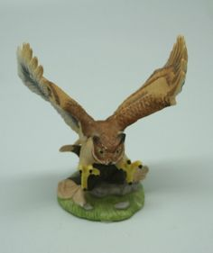 "Royal Heritage Porcelain Figurine ""Horned Owl"""