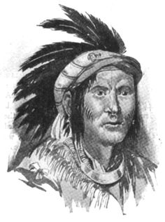 Chief Pontiac of Shawnee Indians.  He was a Known Cannibal.