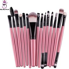 Professional Maquiagem Makeup Brushes 15Pcs/Set Beauty Cosmetics Foundation Blending Blush Make Up Brush Tool Kit Set #>=#>=#>=#>=#> Click on the pin to check out discount price, color, size, shipping, etc. Save and like it!