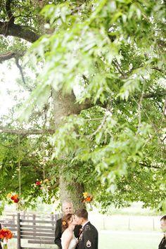 Caroline and Scott's Tennessee Barn Wedding. Photography by: Chris and Adrienne Scott #outdoorwedding #barnwedding #rustic