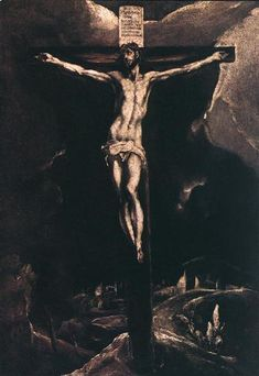 Christ on the cross, 1587 - El Greco