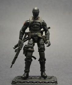 GI Joe Snake Eyes Custom Action Figure by Darksider80