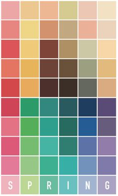 Spring Color Palette, Colour Pallete, Spring Colors, Light Spring Palette, Wardrobe Color Guide, Color Type, Seasonal Color Analysis, Beauty And Fashion, Bright Spring