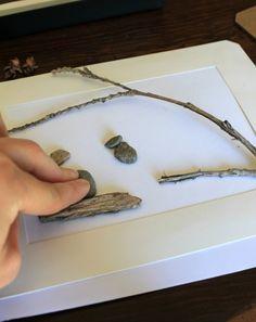DIY pebble art tutorial #Pintorials                                                                                                                                                     More