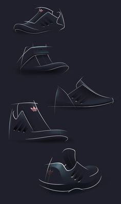 Adidas Dark Concept on Behance #id #industrial #design #product #sketch #footwear #s
