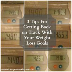 3 Simple Tips for Getting Back on Track With Your Weight Loss Goals